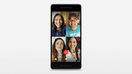 В WhatsApp появились групповые звонки с участием до четырех человек