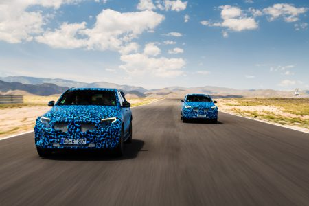 Mercedes-Benz представит свой первый серийный электрокроссовер Mercedes EQC в Стокгольме 4 сентября