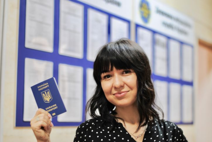 ГМС: Очередей на персонализацию биометрических загранпаспортов больше нет, все заказанные документы выдаются вовремя по всей Украине