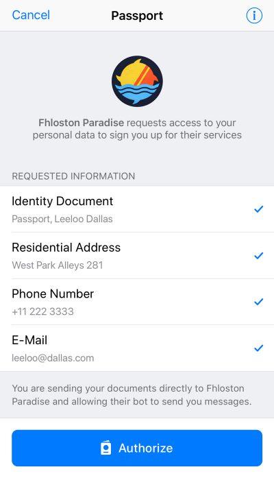 «Авторизация по паспорту»: Telegram официально запустил сервис Passport для хранения данных пользователей - ITC.ua