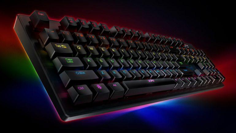 ADATA представила геймерскую клавиатуру INFAREX K20 с механическими переключателями Kailh Blue - ITC.ua