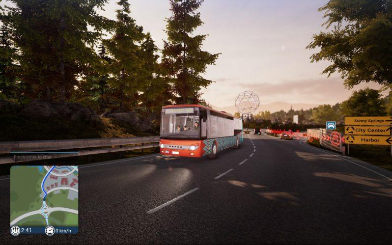 Bus Simulator 18: не стойте в дверях, проходите внутрь салона! - ITC.ua