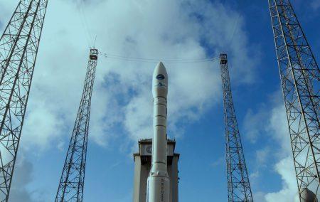 Самый большой в мире твердотопливный ракетный двигатель P120C готов к огневому испытанию