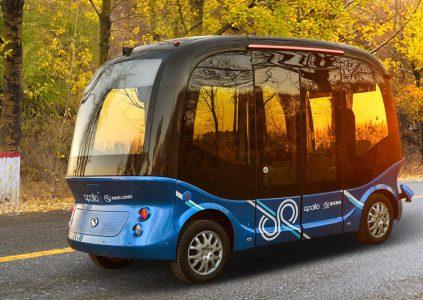 В 2019 году Baidu приступит к эксплуатации самоуправляемых автобусов в Японии