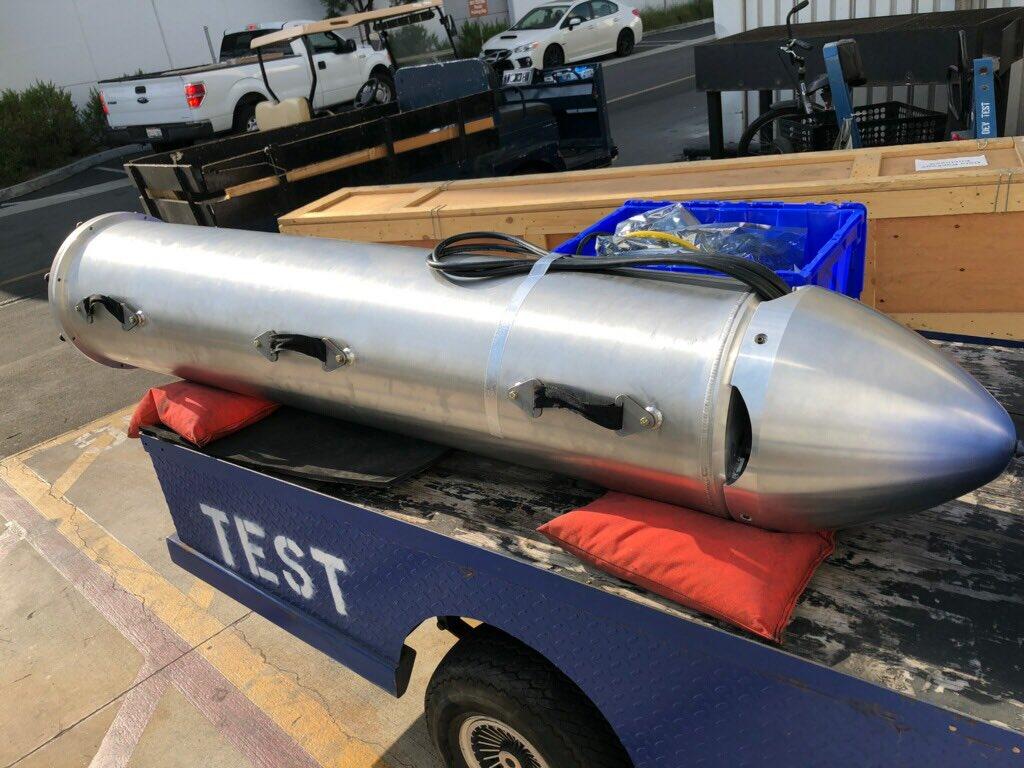 SpaceX сделала крошечную подлодку из частей корпуса ракеты Falcon для спасения детей в Таиланде [Обновлено: уже спасли восьмерых подростков]