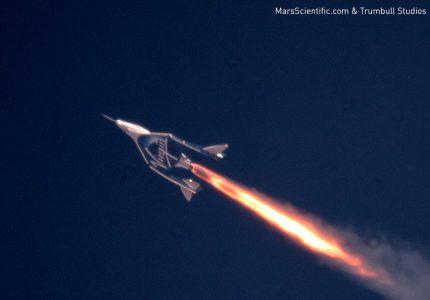 Космоплан VSS Unity совершил третий полет и поднялся на рекордную высоту в 52 км