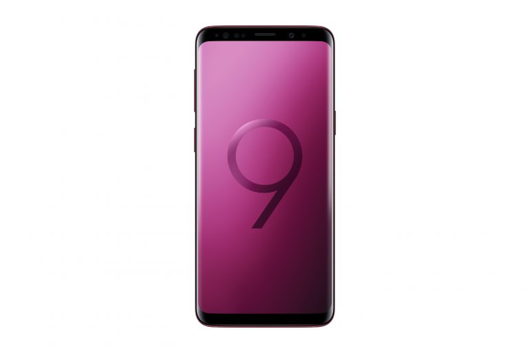 Samsung сообщила о старте продаж смартфонов Galaxy S9 и Galaxy S9+ в цветах Burgundy Red и Sunrise Gold