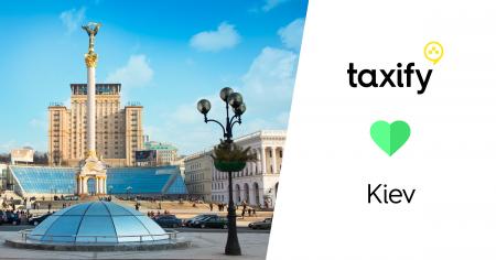 За месяц после перезапуска сервис заказа такси Taxify зарегистрировал в Киеве 100 тыс. пассажиров и тысячи водителей