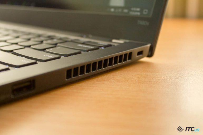 ThinkPad T480s греется