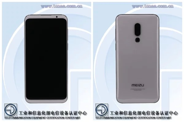 Опубликованы официальные рендеры смартфонов Meizu 16 и Meizu 16 Plus - подтверждены вытянутые дисплеи без выреза