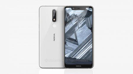 Рендеры Nokia 5.1 Plus демонстрируют дисплей с вырезом и двойную камеру