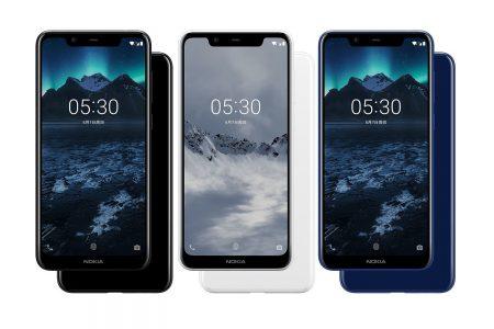 В Китае представили Android-смартфон Nokia X5 с «челкой», восьмиядерным MediaTek Helio P60, двойной камерой и ценником от $149