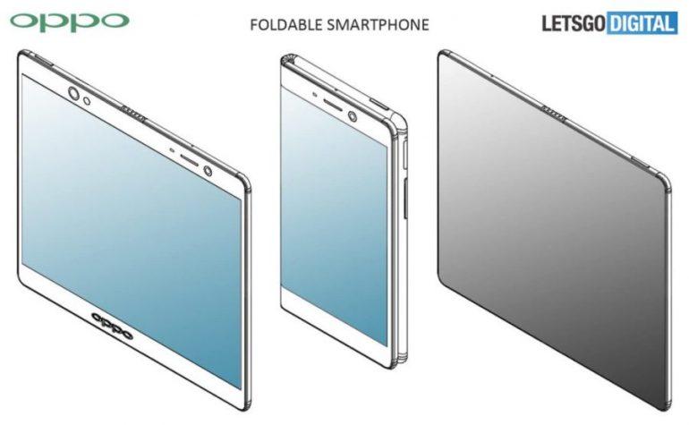 OPPO получила патенты сразу на три разных варианта гибких смартфонов