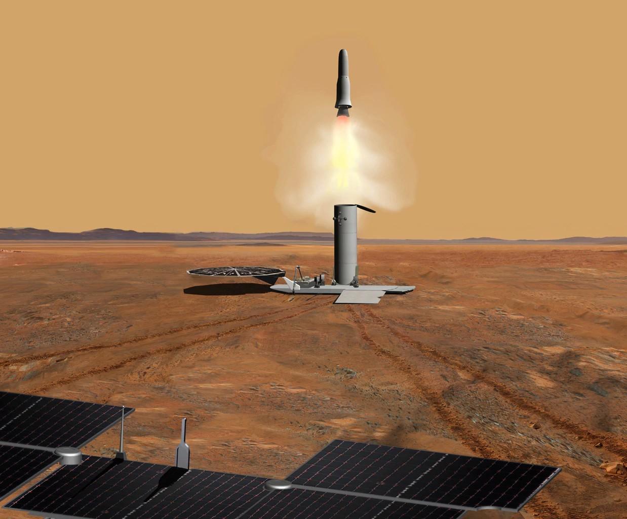 Airbus по заказу ESA займется разработкой ровера, который заберет образцы грунта с Марса