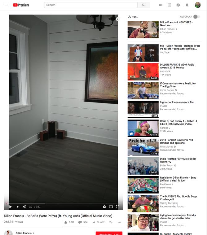 YouTube научился адаптироваться под вертикальные видеоролики