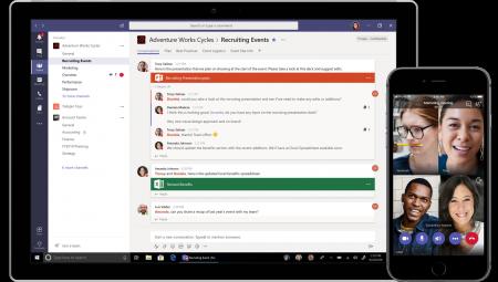 Microsoft запускает бесплатную версию своего корпоративного мессенджера Teams