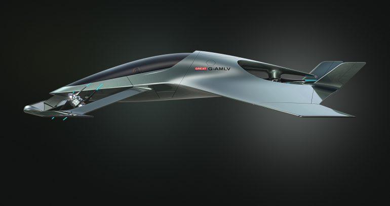 Aston Martin представил концепт премиального летающего автомобиля Volante Vision