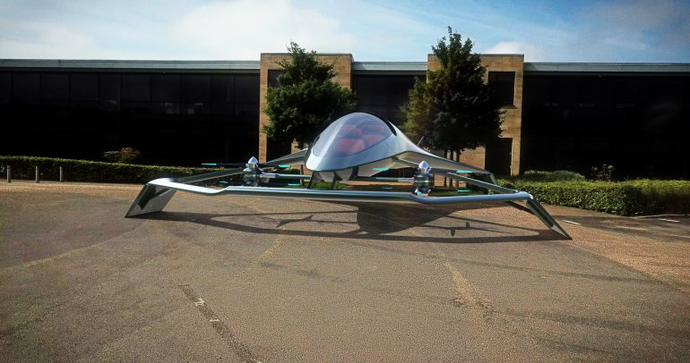 Aston Martin представил концепт премиального летающего автомобиля Volante Vision - ITC.ua