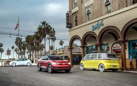 Электромобили Volkswagen I.D. CROZZ и I.D. BUZZ будут собирать в США, чтобы избежать дополнительного налогообложения