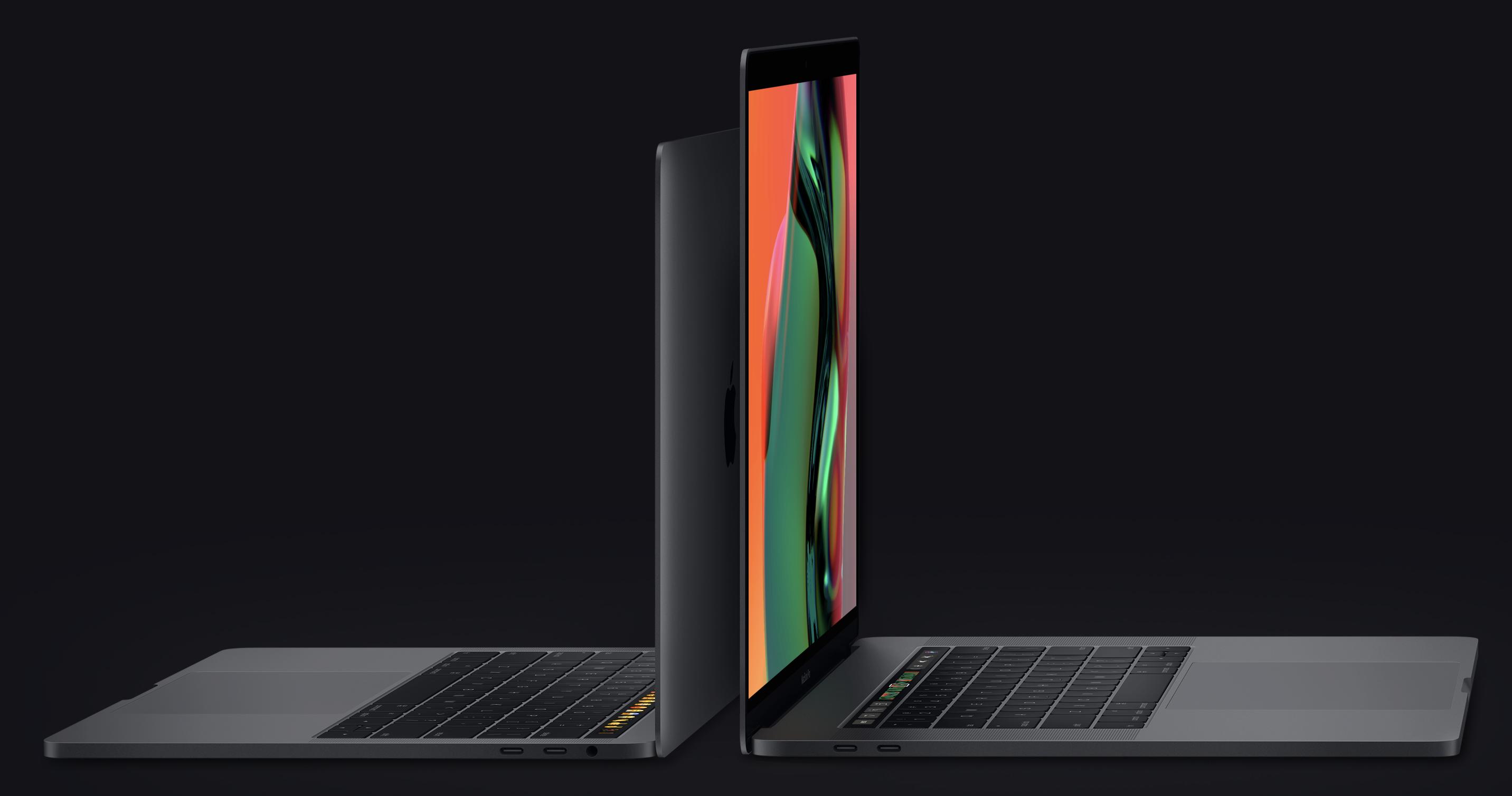 Apple обновила ноутбуки MacBook Pro с Touch Bar новыми процессорами Intel и более тихой клавиатурой