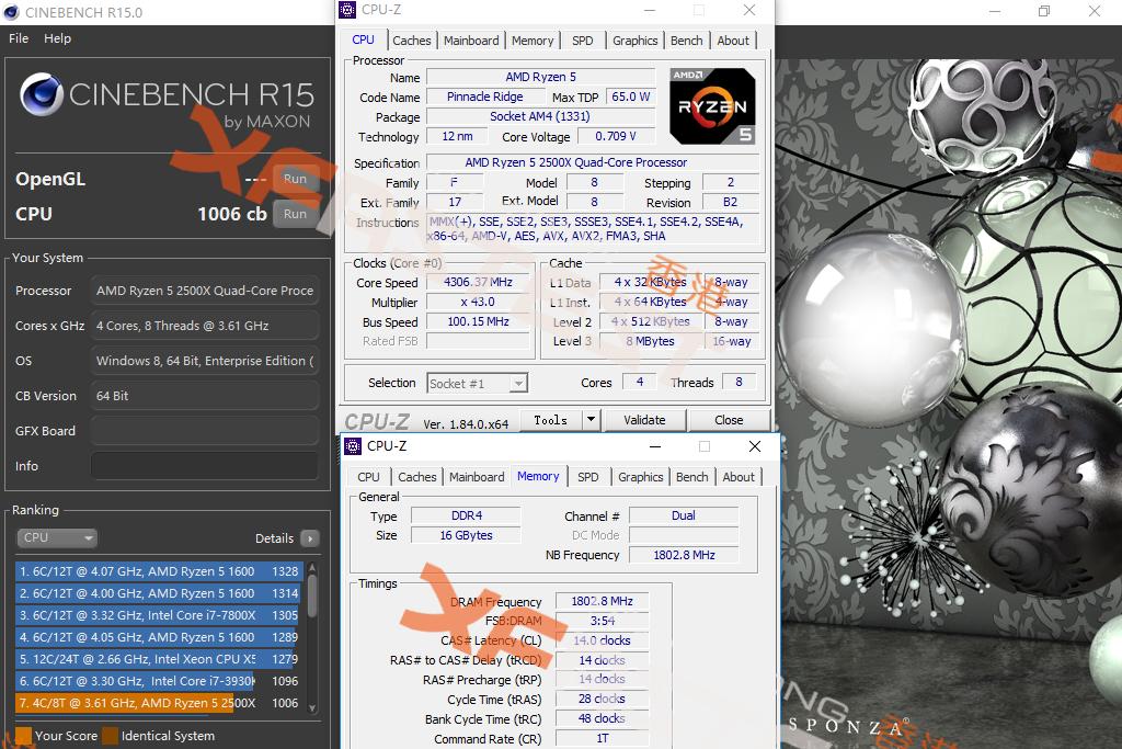 Ѕюджетные четырехъ¤дерники AMD Ryzen 3 2300X и Ryzen 5 2500X проверили на разгон, младшего Ђраскочегарилиї до 5663 ћ√ц