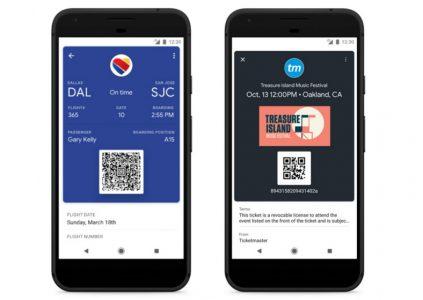 В Google Pay теперь можно хранить билеты и посадочные талоны, а также осуществлять денежные переводы - ITC.ua