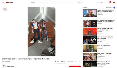 Веб-версия YouTube научилась адаптироваться под вертикальные видео