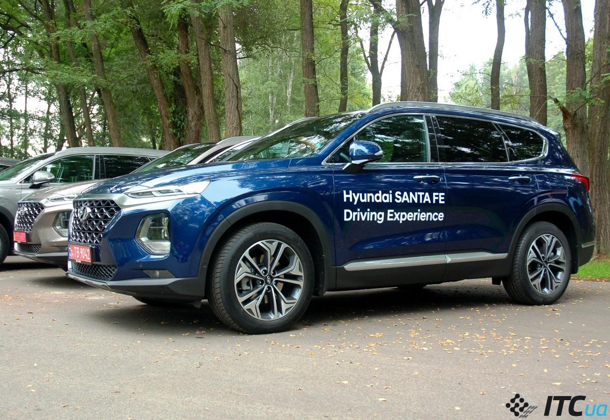 Новый Hyundai Santa Fe: первый взгляд, «бензинvs дизель», планы на будущее