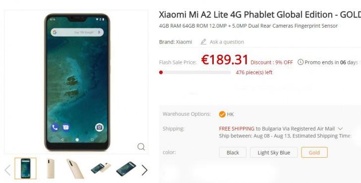Gearbest уже принимает предзаказы на смартфоны Xiaomi Mi A2 и Mi A2 Lite, которые представят только после полудня - ITC.ua