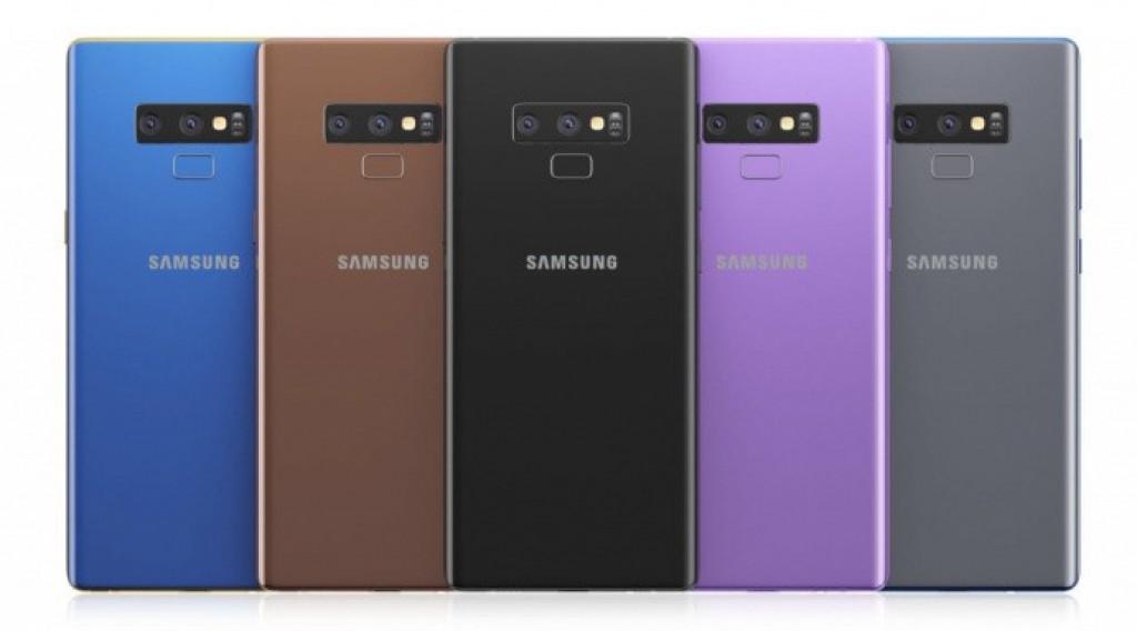Опубликовано первое «официальное» изображение смартфона Samsung Galaxy Note9