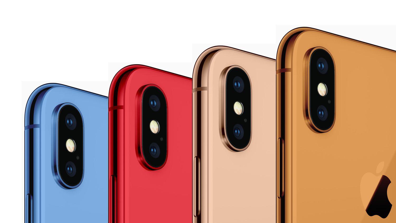 KGI Securities Новые iPhone получат целый ряд цветовых вариантов включая золотой голубой красный и… оранжевый