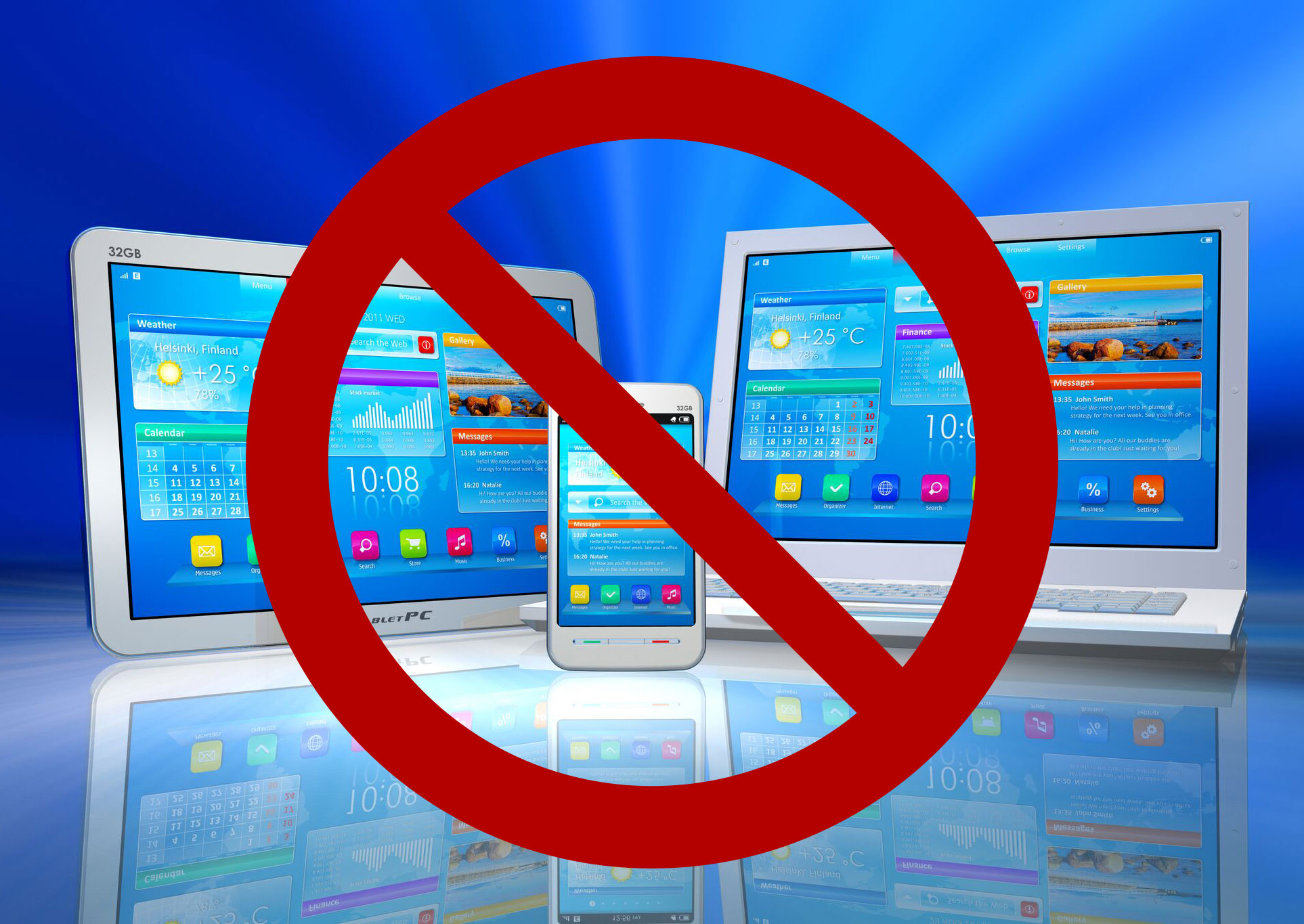 ВоФранции запретили мобильные телефоны вшколах