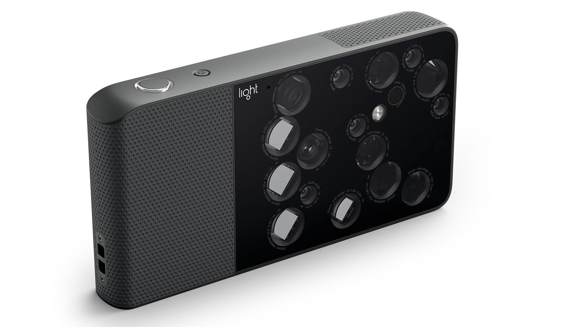 Показан смартфон сдевятью тыловыми камерами
