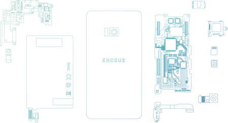 HTC рассказала новые подробности о своем блокчейн-смартфоне Exodus и анонсировала приход криптокотиков на Android - ITC.ua