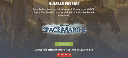 В Humble Bundle бесплатно раздают Warhammer 40,000: Space Marine, а в Steam бесплатные выходные Warhammer: Vermintide 2