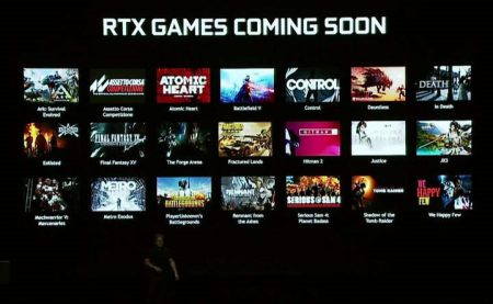 Список игр, которые получат поддержку технологий NVIDIA RTX, включает более двух десятков названий
