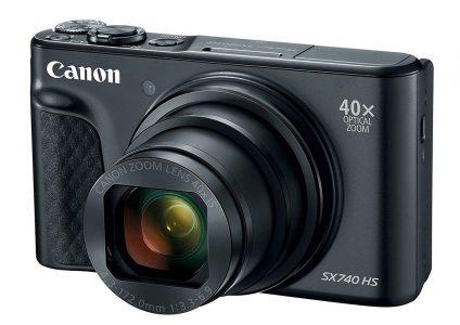 Canon выпустила компактную камеру PowerShot SX740 HS с 40-кратным зумом и поддержкой записи видео в разрешении 4K