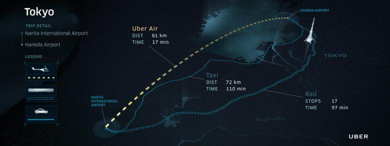 Uber подыскивает мегаполис за пределами США для тестирования сервиса летающих такси, пока в лидерах Австралия, Бразилия, Индия, Франция и Япония