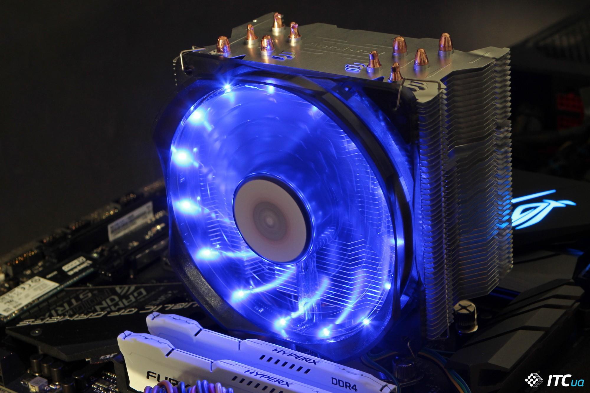 Обзор процессорных кулеров Aardwolf Performa 10X и Performa 11X