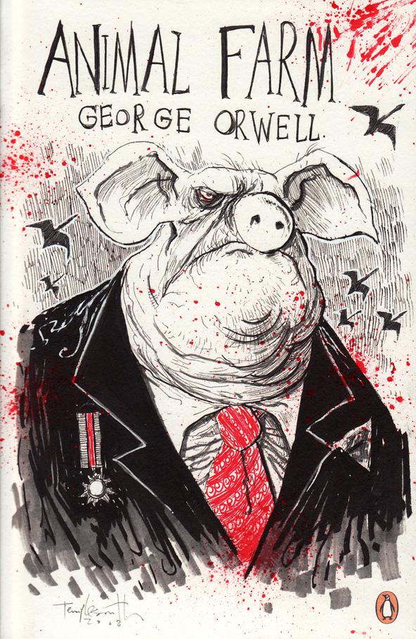 """Энди Серкис снимет для Netflix экранизацию антиутопии Animal Farm / """"Скотный двор"""" Джорджа Оруэлла - ITC.ua"""