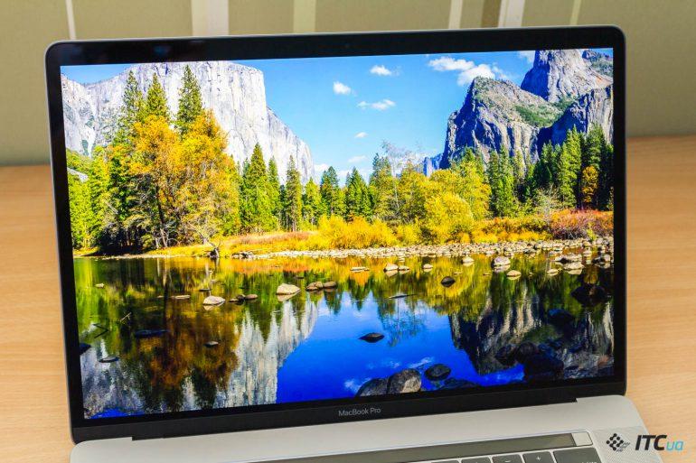 экран MacBook Pro 15 2018