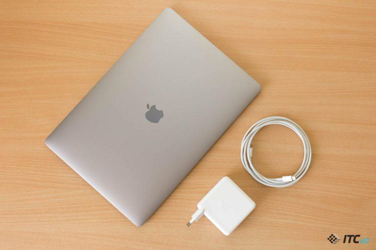 комплектация MacBook Pro 15 2018
