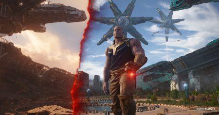 Как создавались спецэффекты для фильма Avengers: Infinity War / «Мстители: Война бесконечности» [видео]