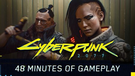 CD Projekt Red опубликовали почти час геймплея Cyberpunk 2077 [видео]