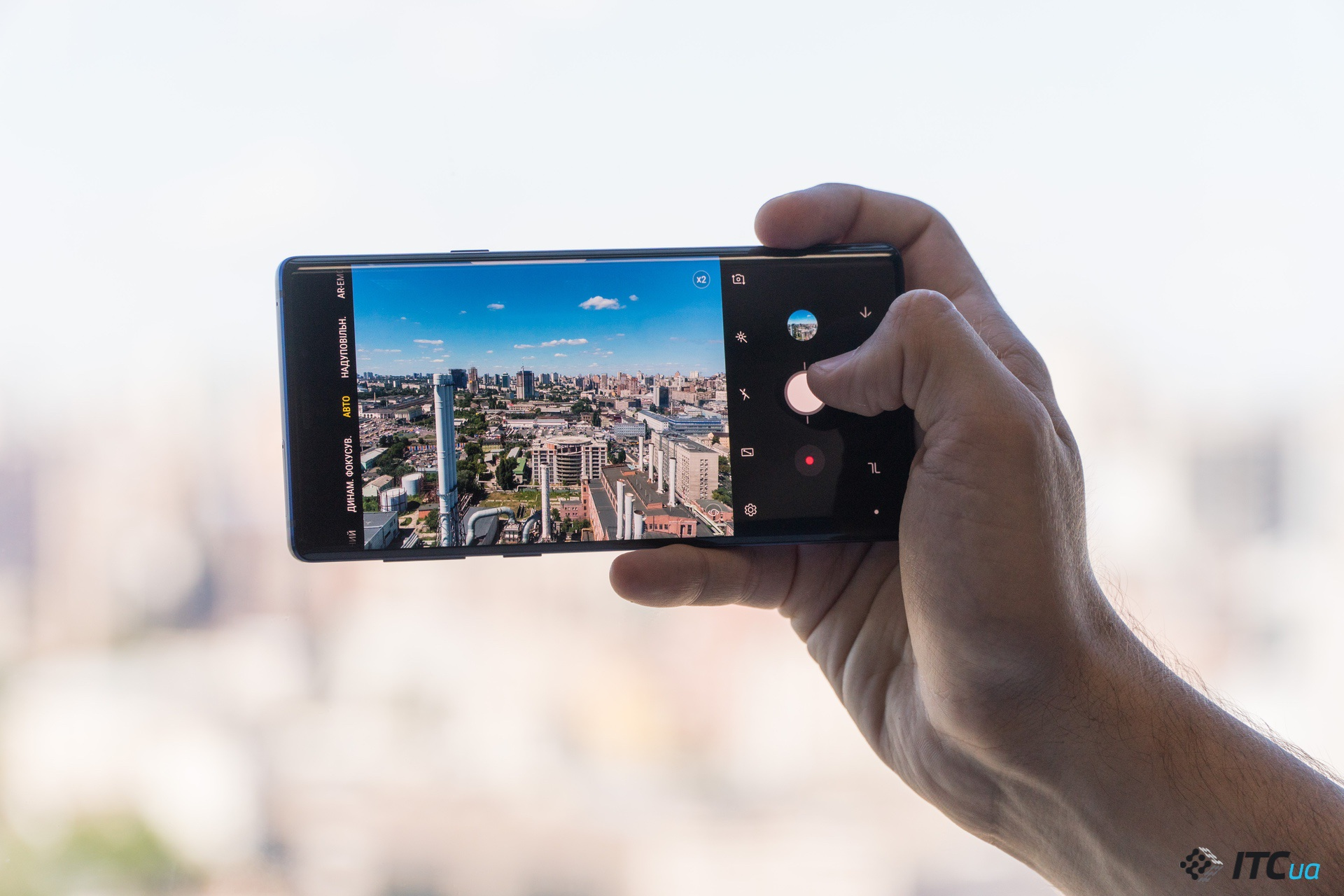 камера Galaxy Note9
