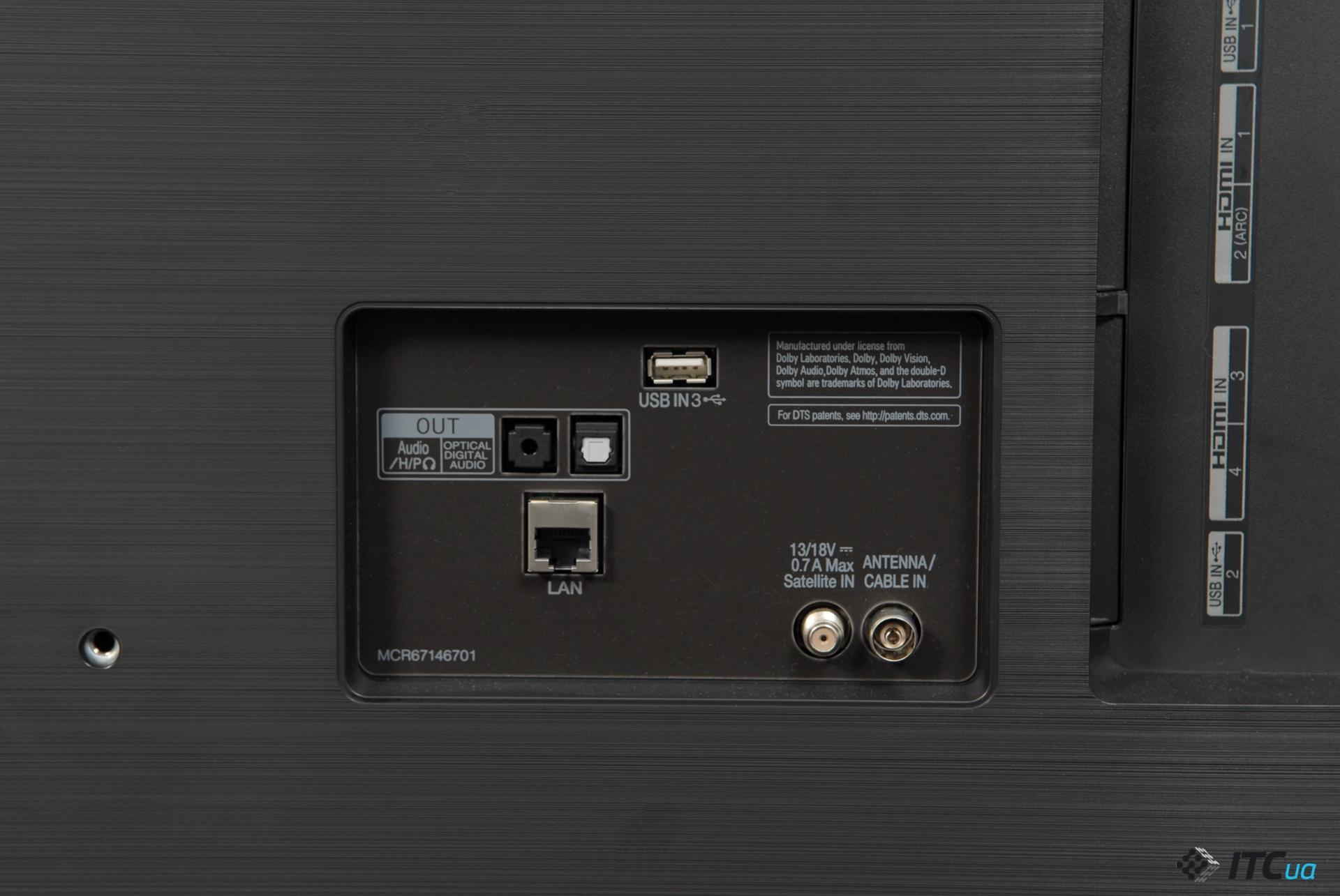 подключение LG 55SK8500
