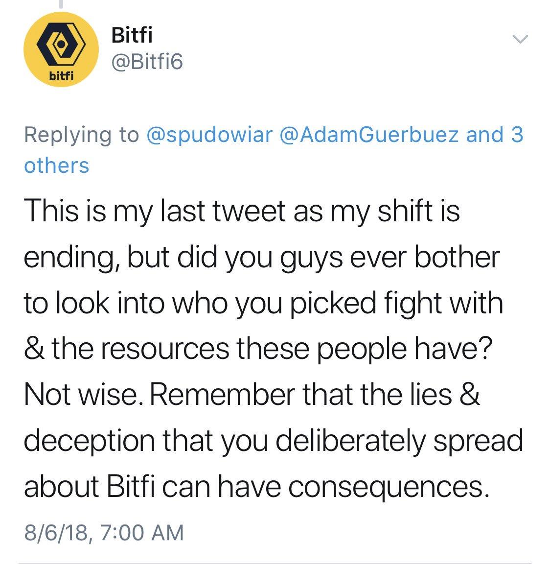 Bitfi угрожает хакерам, взломавшим криптокошелек Джона Макафи