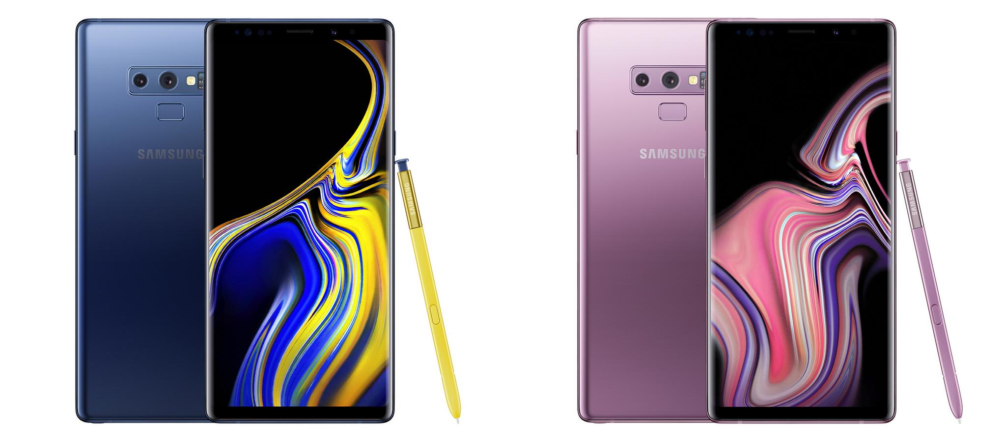 В Украине открыли предзаказы на Samsung Galaxy Note9 по цене 34 999 грн