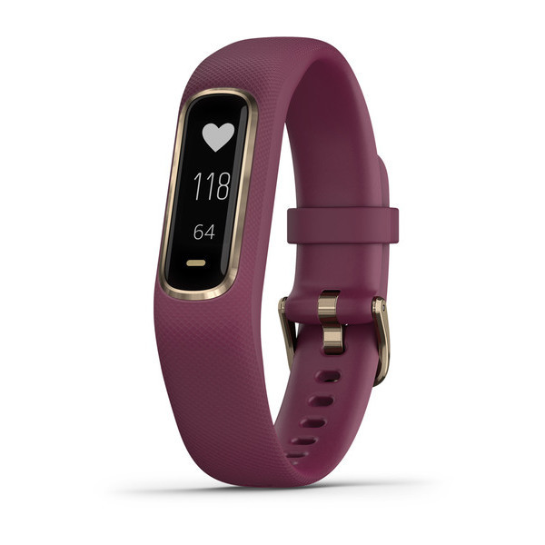 """Новый фитнес-браслет Garmin Vivosmart 4 стоимостью $130 умеет измерять насыщение крови кислородом, стресс, качество сна и """"запас энергии"""" тела"""