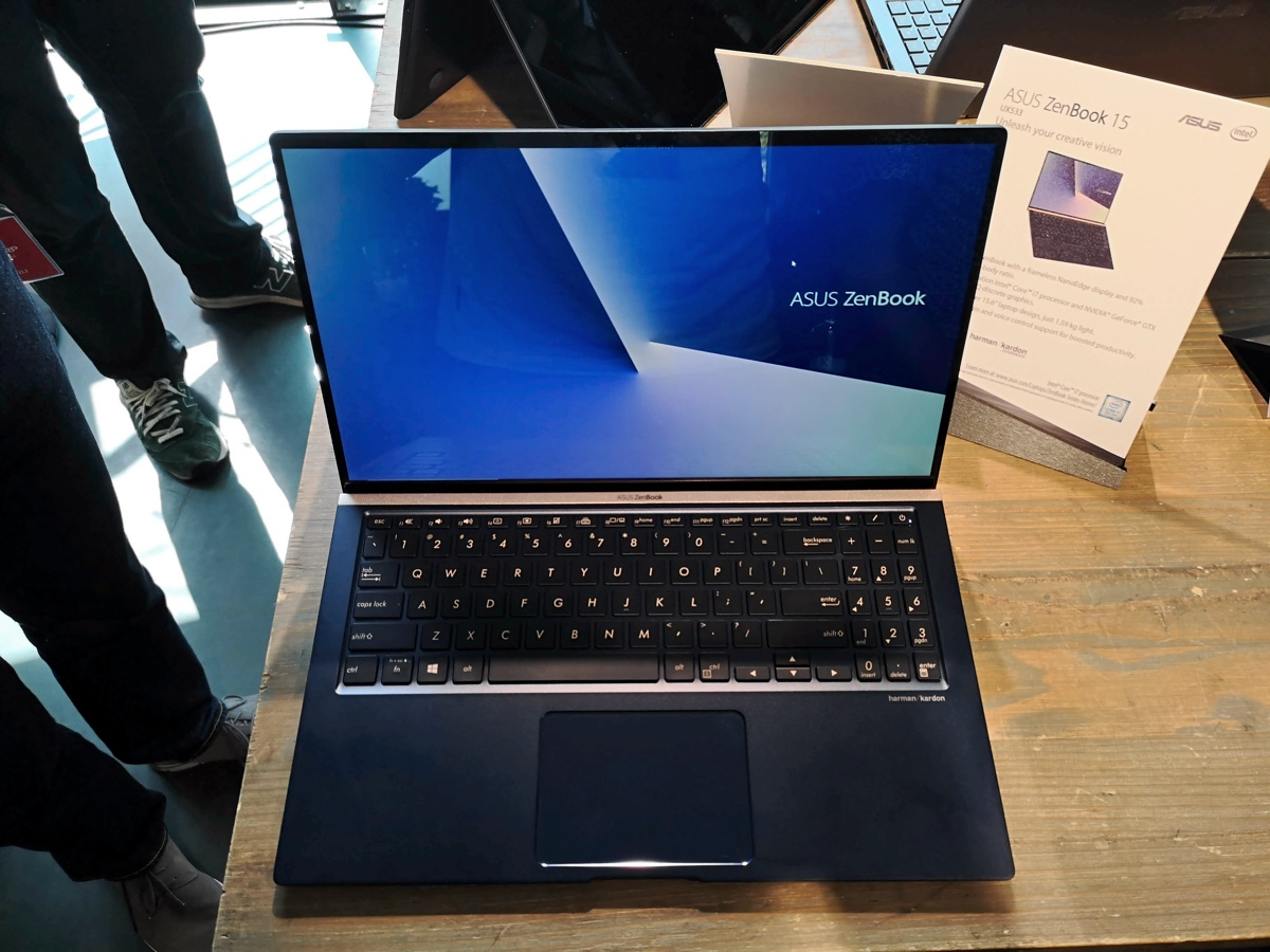 IFA 2018: Consider the ASUS ZenBook 13, 14 and 15 laptops first